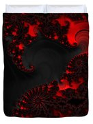 Devil Light   A Fractal Abstract Duvet Cover