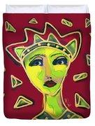 Devil Woman Duvet Cover