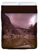 Devil's Bridge Duvet Cover