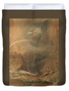 Devil's Bridge Saint Gotthard's Pass Duvet Cover