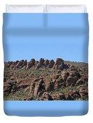 Devils Canyon Arizona Duvet Cover