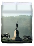 Devil's Den Monument At Gettysburg Duvet Cover