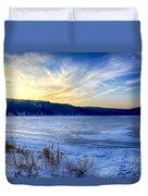 Devils Lake  Duvet Cover