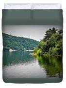 Devils Lake Wisconsin Duvet Cover