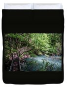 Devil's Millhopper Gainesville Fl II Duvet Cover