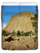 Devils Tower Four Duvet Cover