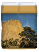 Devils Tower One Duvet Cover