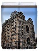 Divine Lorraine Hotel - Broad Street Philadelphia Duvet Cover