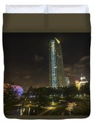 Devon Tower Okc Duvet Cover