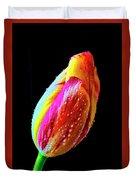 Dew Beaded Tulip Duvet Cover