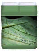 Dew Droplets Of Nature Duvet Cover