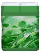 Dew Drops Duvet Cover