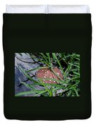 Dew It At The Creek Duvet Cover