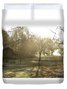 Dewdrop Sunrise Duvet Cover