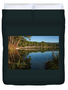 Dewey's Pond Duvet Cover