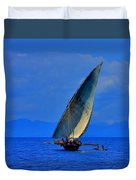 Dhow On The Indian Ocean 2 Duvet Cover