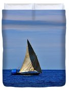Dhow On The Indian Ocean Duvet Cover
