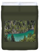 Diabolo Lake North Cascades Np Wa Duvet Cover by Christine Till
