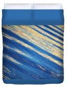 Diagonal Waters Duvet Cover