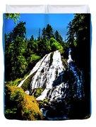 Diamond Creek Falls Duvet Cover