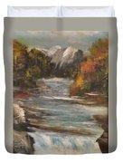 Diamond Falls Duvet Cover