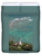 Diamond Head Lighthouse 3 Duvet Cover