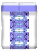 Diamonds Lilac Duvet Cover