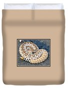 Diamondback Coils Duvet Cover