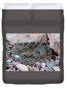 Diamondback Rattlesnake 062414a Duvet Cover