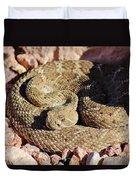 Diamondback Rattlesnake 062414f Duvet Cover