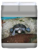 Diamondback Terrapin Duvet Cover by Lynn Jackson