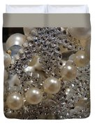 Diamonds And Pearls 2 Duvet Cover