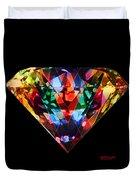 Diamonds Everywhere Duvet Cover