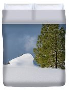 Diamonds In The Snow Duvet Cover