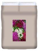 Dianthus Group  Duvet Cover