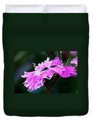 Dianthus Duvet Cover