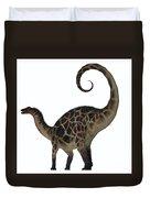 Dicraeosaurus Dinosaur Tail Duvet Cover