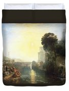 Dido Building Carthage Duvet Cover