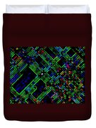 Diffusion Component Duvet Cover by Will Borden