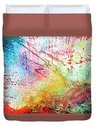 Digital Abstract Duvet Cover