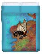 Digital Art Butterfly Duvet Cover