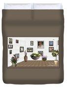 digital exhibition _ Flower basket 22 Duvet Cover