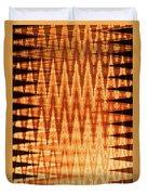 Digital Fire Duvet Cover