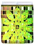 Digital Floral Duvet Cover