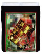 Digital Mosaic Duvet Cover