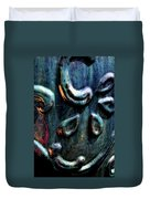 Digital Painting Abstract Blue 2364 Dp_2 Duvet Cover
