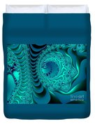 Digital Physics Duvet Cover