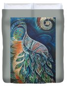 Peacock Dignified Duvet Cover