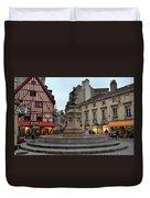 Dijon Fountain Duvet Cover