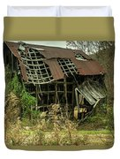 Dilapidated Barn Morgan County Kentucky Duvet Cover